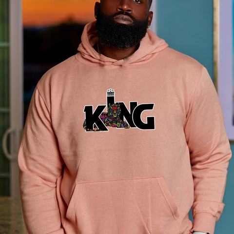 Luther King hoodie Peach