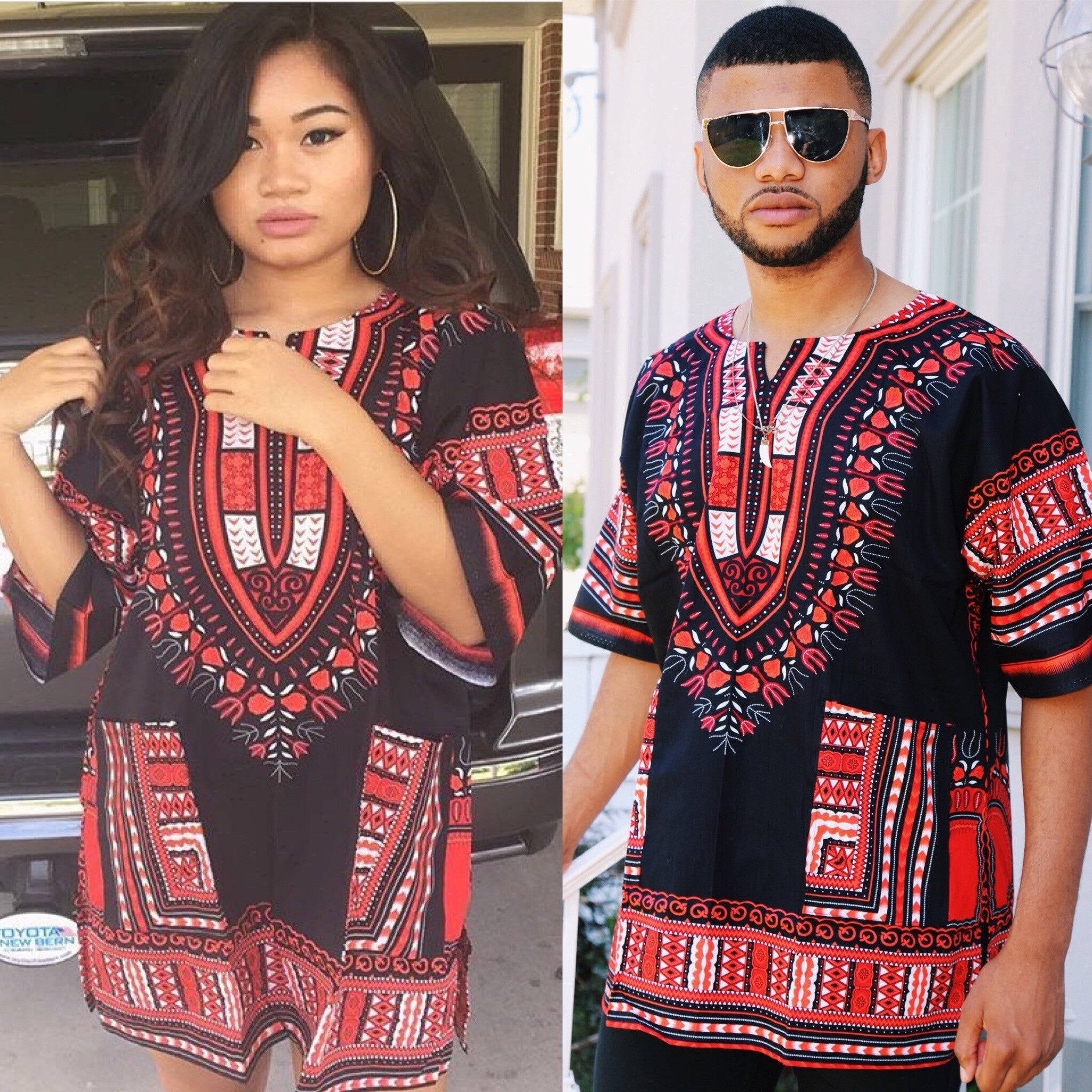 "A ""Black and Red Dashiki"""