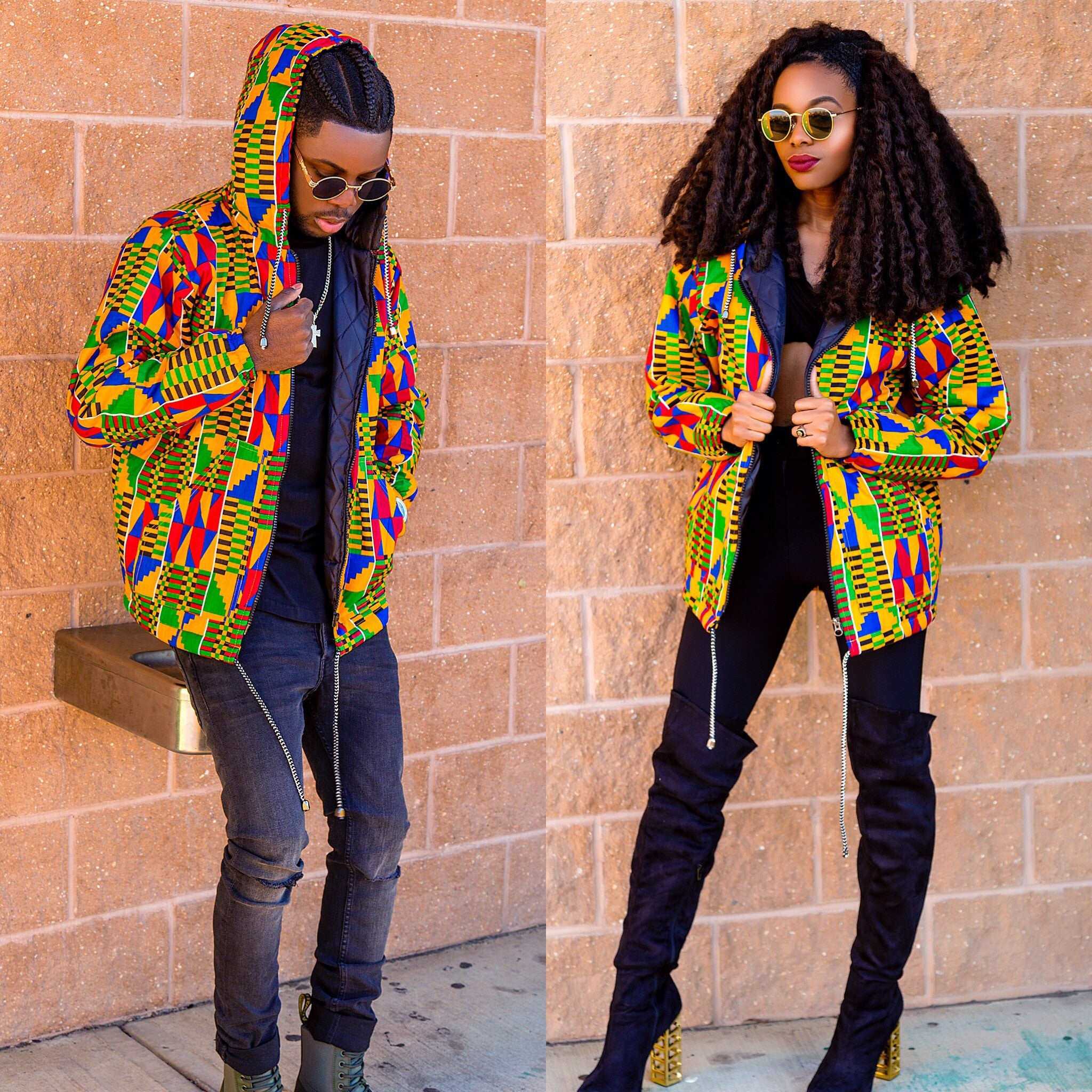 Blazin Retro hooded jacket