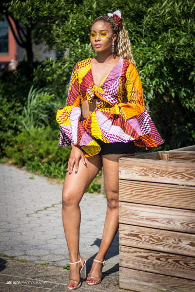 African print summer tops for women, stylish summer shirts for women