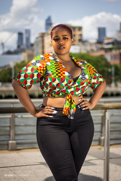 Lola croptop plus size