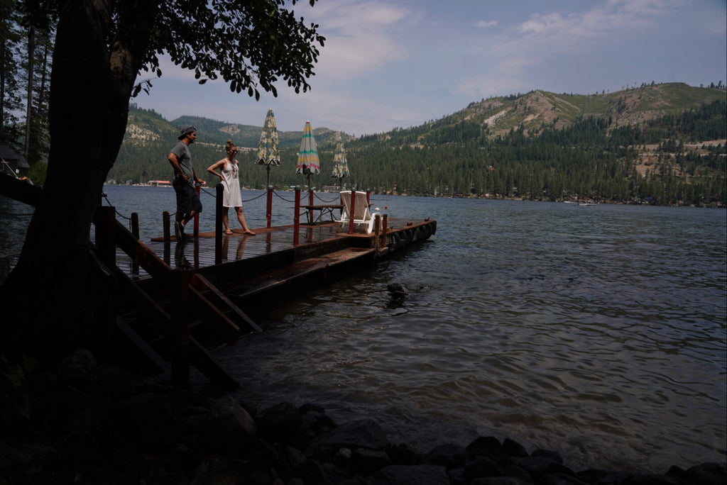 APC Update 1, Donner Lake Night 2, on the dock