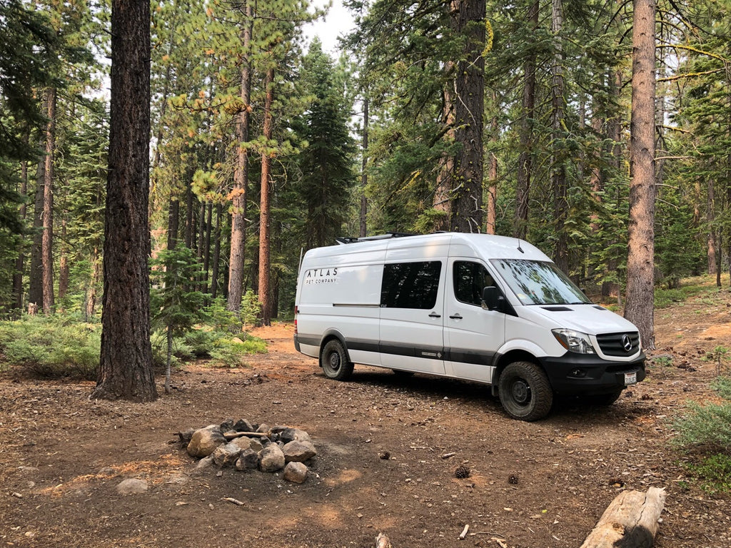 Atlas Pet Company Vanlife Update 1, Tahoe National Forest