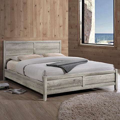 Alice Bed Queen White Ash Colour