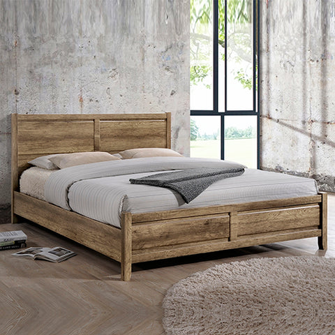Alice Bed Queen Oak Colour