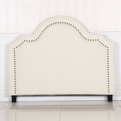 Anne Queen White Headboard