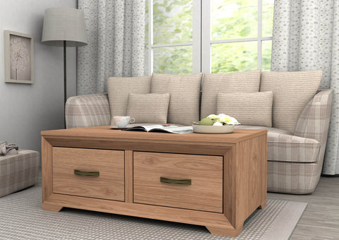 MARIZA COFFEE TABLE SAXON OAK