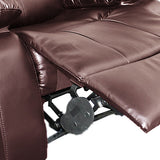 Dream Recliner Bonded Leather -3R -BROWN