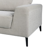 Hopper Sofa 3 Seater Grey