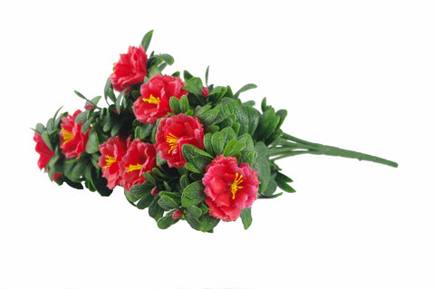 Red Rose Bunch UV 45cm