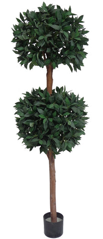 Artificial Bayleaf Ficus Tree 2 Balls 1.82m