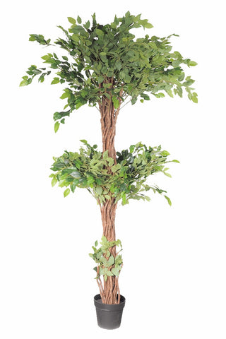 Artificial Three Level Ficus Tree 170cm