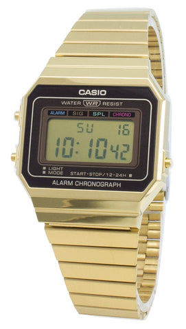 Casio Youth Vintage A700WG-9A Alarm Chronograph Quartz Men's Watch