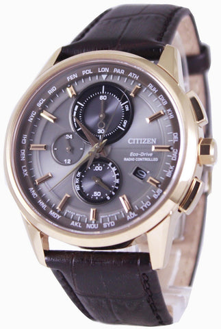 Citizen Eco-Drive Radio Controlled World Time AT8113-12H Men's Watch