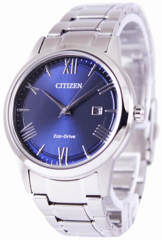 Citizen Eco-Drive Blue Dial AW1231-58L Men's Watch