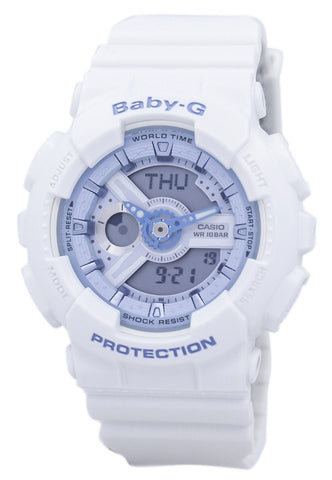 Casio Baby-G BA-110BE-7A BA110BE-7A Shock Resistant World Time Analog Digital Women's Watch