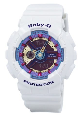 Casio Baby-G Analog Digital Multi-Color Dial BA-112-7A Women's Watch