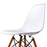 Set of 4 Replica Eames Eiffel Dining Chairs White