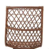 Set of 4 Outdoor Rattan Dining Chair