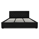 Artiss King Gas Lift Bed Frame - Charcoal