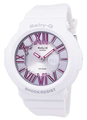 Casio Baby-G Neon Illuminator BGA-160-7B2DR Womens Watch
