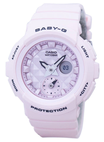 Casio Baby-G Shock Resistant World Time Analog Digital BGA-190BE-4A BGA190BE-4A Women's Watch