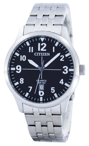 Citizen Quartz Black Dial BI1050-81F Men's Watch