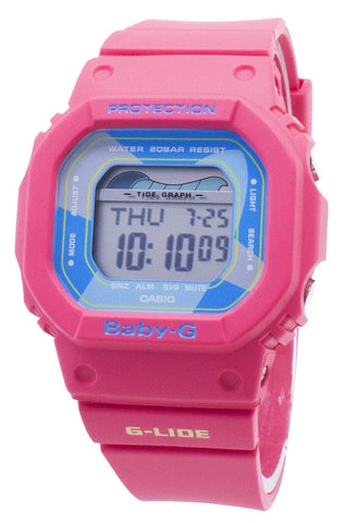 Casio Baby-G G-Lide BLX-560VH-4 BLX560VH-4 Tide Graph 200M Women's Watch