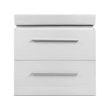 Cefito Ceramic Basic with Cabinet - White