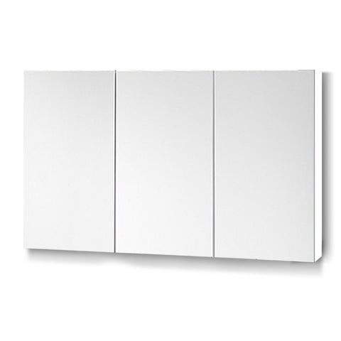 Cefito Bathroom Vanity Mirror with Storage Cabinet - White