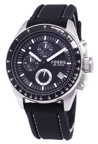Fossil Decker Chronograph Silicone CH2573 Men's Watch