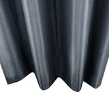 Set of 2 ArtQueen 3 Pass Eyelet Blockout Curtain Grey 240cm - 260GSM