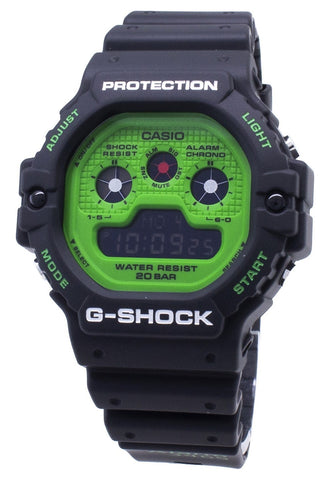 Casio G-Shock DW-5900RS-1 DW5900RS-1 Shock Resistant 200M Men's Watch