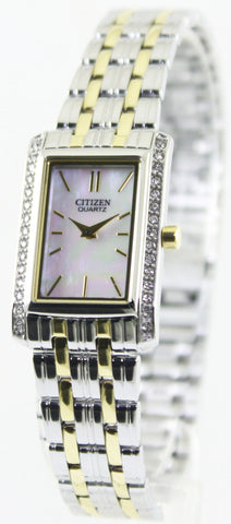 Citizen Quartz Swarovski Crystals EK1124-54D Women's Watch