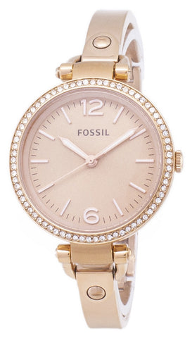 Fossil Georgia Glitz Bangle Crystal ES3226 Women's Watch