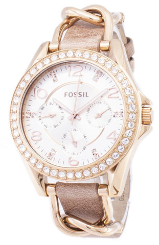 Fossil Riley Multifunction Crystals ES3466 Women's Watch