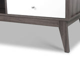 Artiss 2 Drawer Coffee Table - Wood