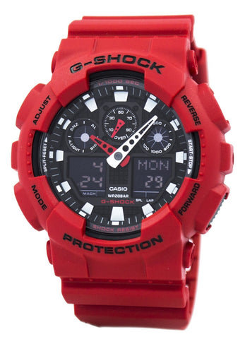 Casio G-Shock GA-100B-4A GA100B-4A Analog-Digital Men's Watch