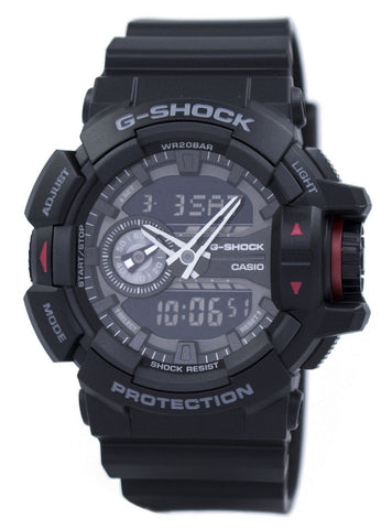 Casio G-Shock Analog Digital GA-400-1B GA400-1B Men's Watch