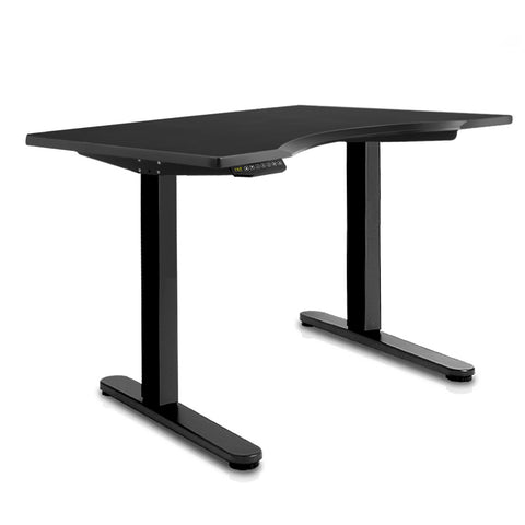 140CM Motorised Height Adjustable Desk Frame Black