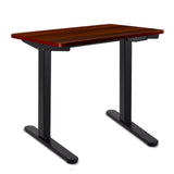 Motorised Height Adjustable Standing Desk - Walnut