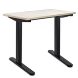 Motorised Height Adjustable Standing Desk - White Oak
