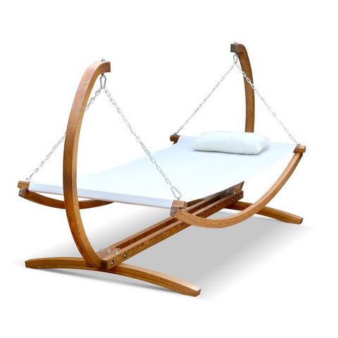 garden Outdoor Swing Hammock Bed