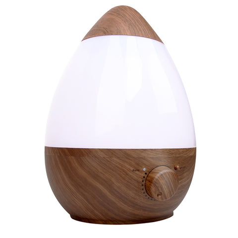 Ultrasonic Cool Mist Air Humidifier 2.3L Dark Wood