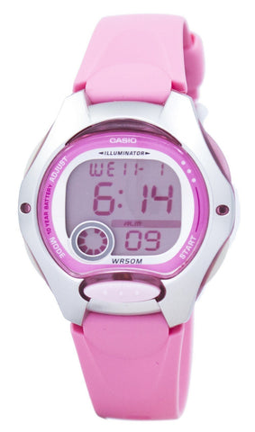 Casio Digital Sports Illuminator LW-200-4BVDF LW200-4BVDF Women's Watch
