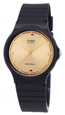 Casio Quartz Enticer Analog Gold Dial MQ-76-9ALDF MQ-76-9AL Men's Watch