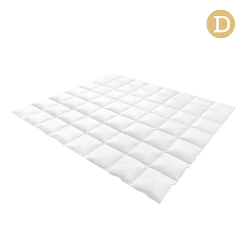 Goose Feather Down Quilt  - Double