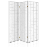 Artiss 3 Panel Wooden Room Divider - White