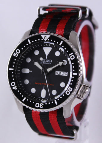 Seiko Automatic Diver's 200M NATO Strap SKX007K1-NATO3 Men's Watch