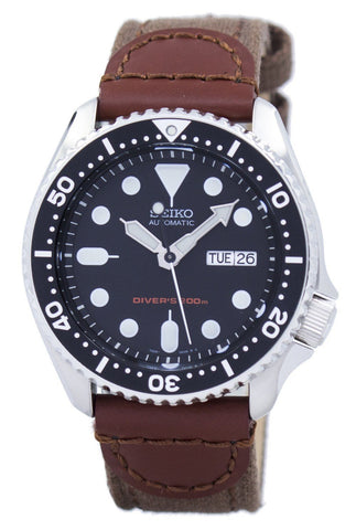 Seiko Automatic Diver's Canvas Strap SKX007K1-NS1 200M Men's Watch